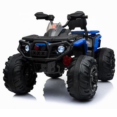 Atv electric cu roti din cauciuc 12V Nichiduta Hunter Pro Blue