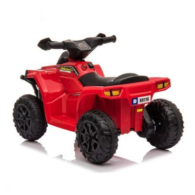 ATV electric cu roti din cauciuc X Racer 6V Red