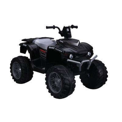ATV electric Nichiduta Extreme Quad cu roti din cauciuc Black