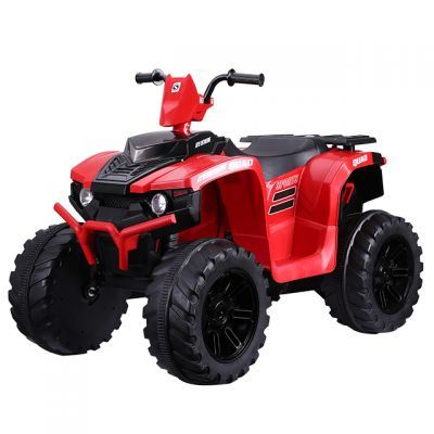 ATV electric Nichiduta Extreme Quad cu roti din cauciuc Red