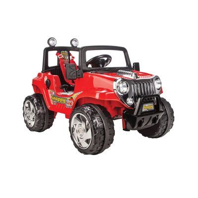 Masinuta electrica 12V Snappy Jeep Red