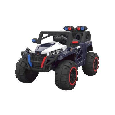Masinuta electrica cu deschidere usi Nichiduta Jeep 4x4 Sport Speed Black