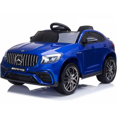 Masinuta electrica cu roti EVA Mercedes Benz GLC 63 Limited Edition Blue
