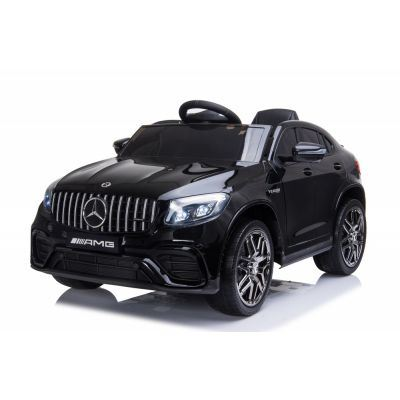 Masinuta electrica cu roti EVA Mercedes Benz GLC 63 Limited Edition Black
