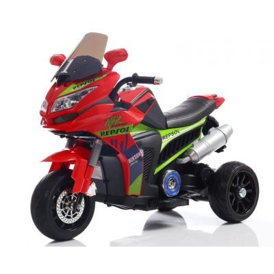 Motocicleta electrica cu lumini Flash Red