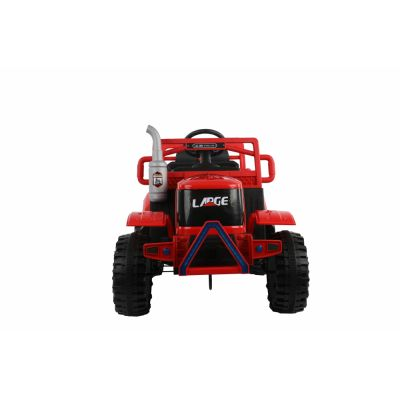 Tractor electric cu remorca si telecomanda Nichiduta Country Red