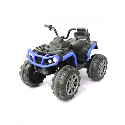 Atv electric cu 2 motoare si roti EVA Nichiduta Force Blue
