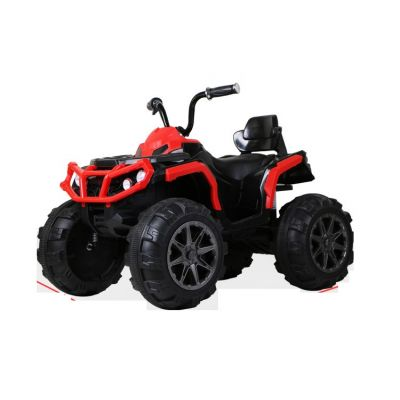 Atv electric cu 2 motoare si roti EVA Nichiduta Force Red