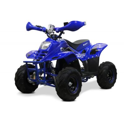 ATV electric ECO Bigfoot 800W 36V cu Baterie Detasabila Albastru