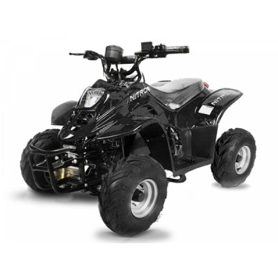 ATV electric ECO Bigfoot 800W 36V cu Baterie Detasabila Negru