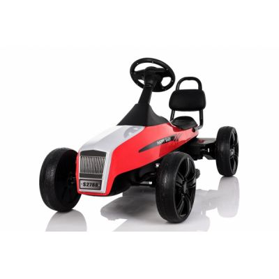 Kinderauto GO Kart electric S2788 RETRO Rosu