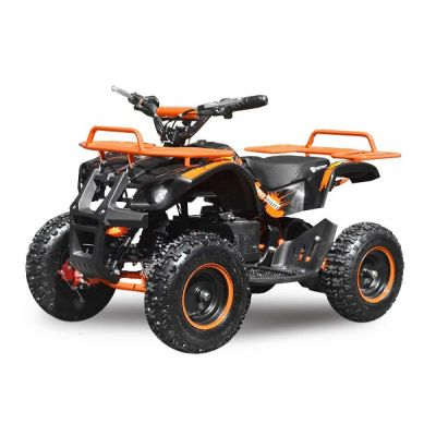 Mini ATV electric NITRO Torino Deluxe Quad 800W 36V Portocaliu