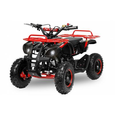 Mini ATV electric NITRO Torino Deluxe Quad 800W 36V Rosu