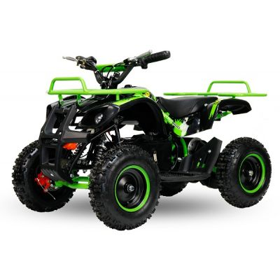 Mini ATV electric NITRO Torino Deluxe Quad 800W 36V Verde