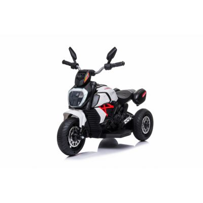 Motocicleta electrica cu lumini Nichiduta Kids Racing White