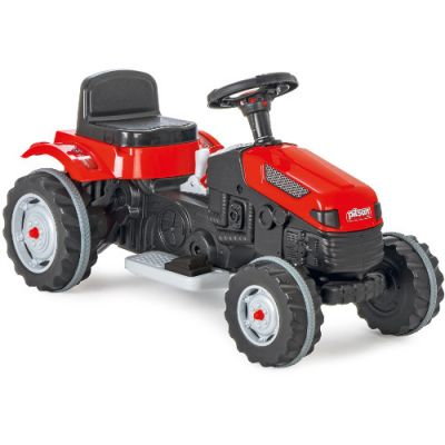 Tractor Electric Active 6V Rosu