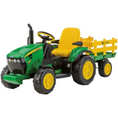 Tractor Electric cu Remorca JD Ground Force